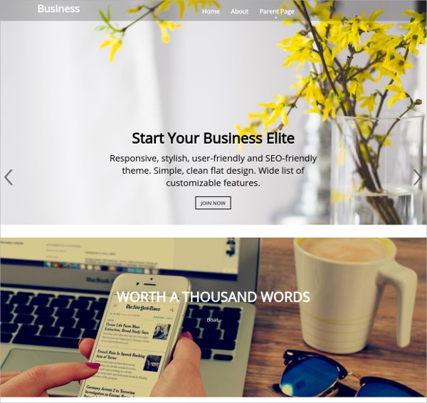 Simple Business Free WordPress Theme