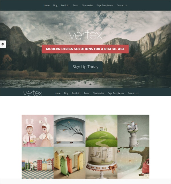 Stunning Free Business WordPress Theme