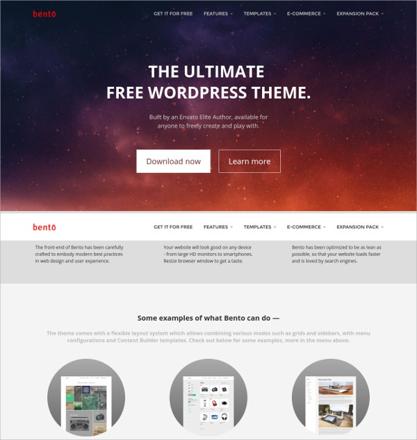 ultimate business free wordpress theme