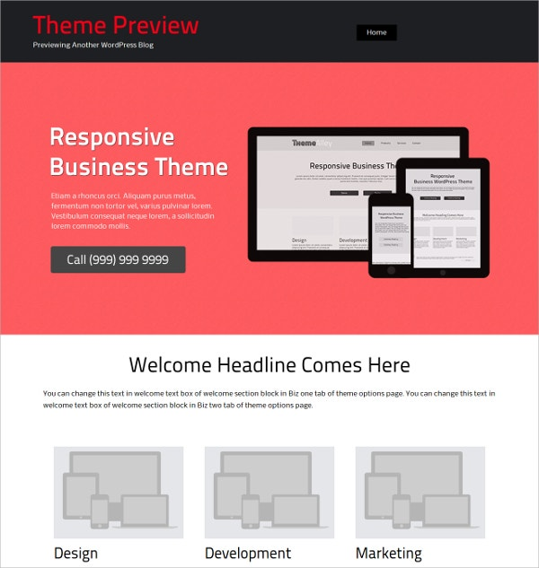 Stylish Business Free WordPress Theme