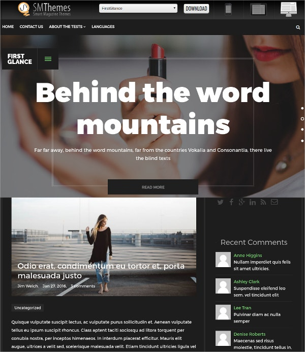 Free Multipurpose Business WordPress Theme