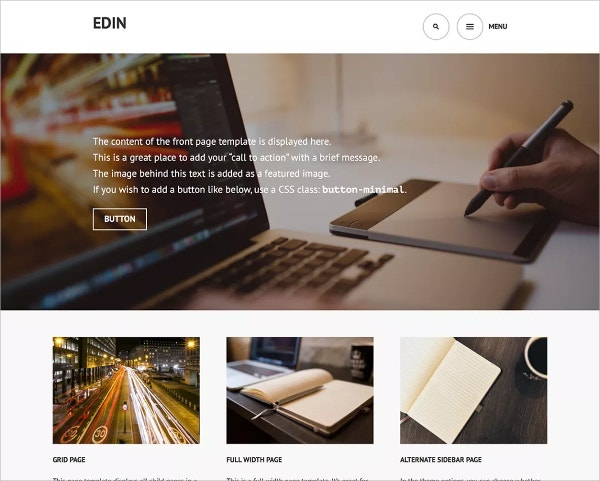 Simple Business & Corporate Free WordPress Theme