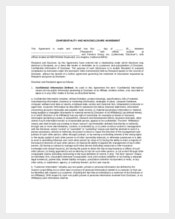 Sample Mutual Vendor Confidentiality Agreement