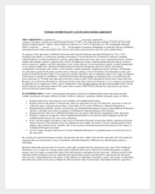Sample Technical Vendor Confidentiality Agreement