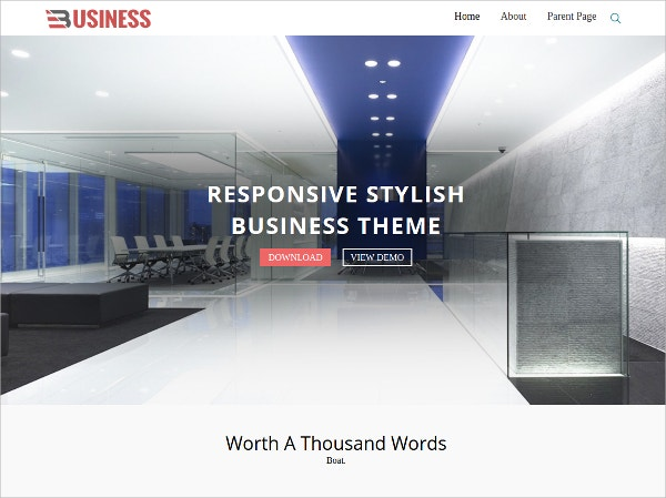 free business corporate wordpress theme