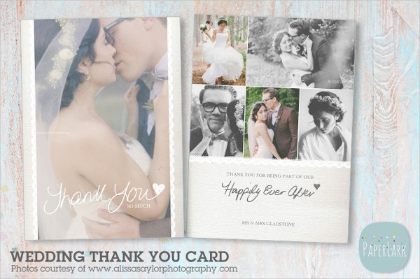 Sweet Wedding Thank You Card