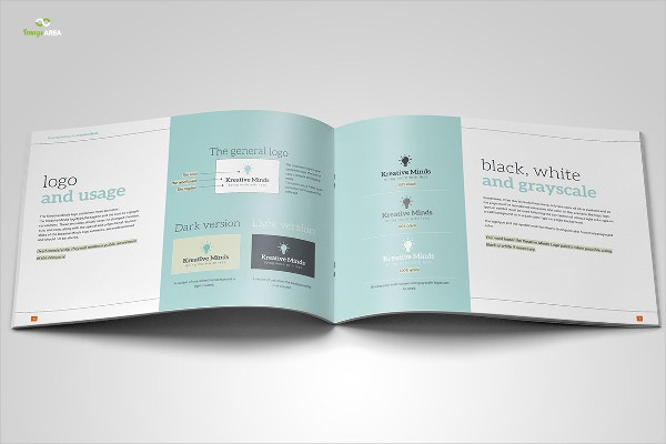 16 book templates free psd ai eps format download free brand book template maxwellsz