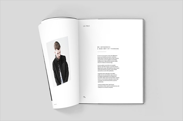 fashion brandbook template