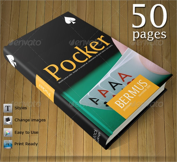 pocker book template