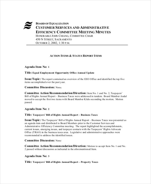 board meeting agenda template 10 free word pdf documents