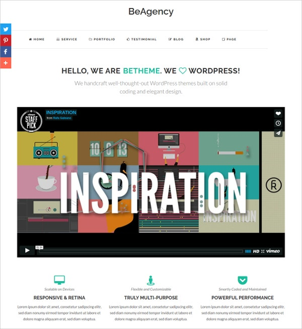 Free Musicoians & DJ WordPress Theme