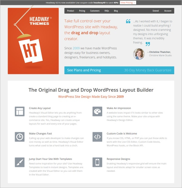 Headwaythemes Builder