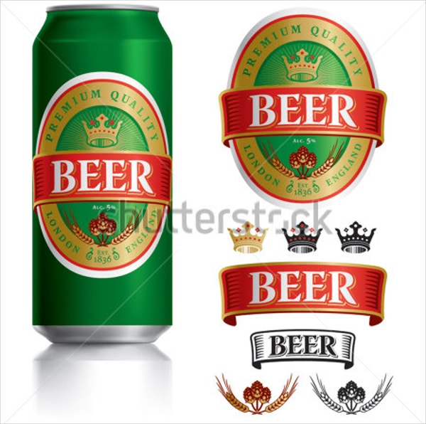 beer label templates