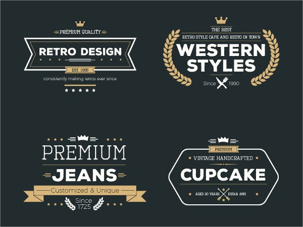Elegant Vintage Label Template