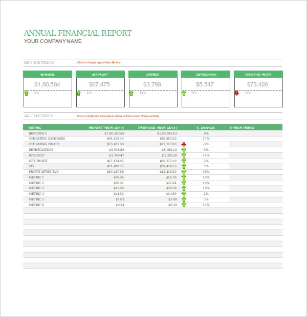 32 Report Templates Free Sample Example Format – Weekly Financial Report Template