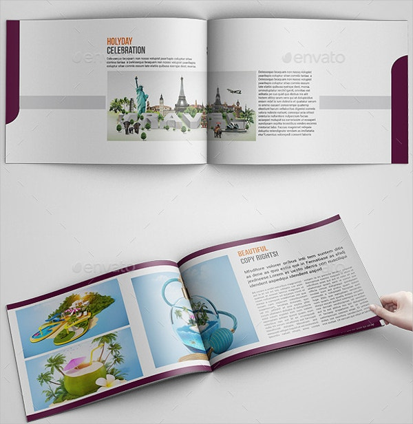 Corporate Travel Agency Brochure Template