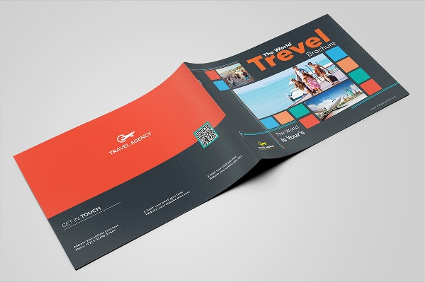 travel guide brochure template