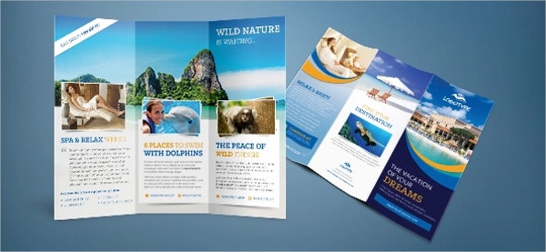 25 travel brochure templates free psd ai eps format for Pamphlet photoshop template