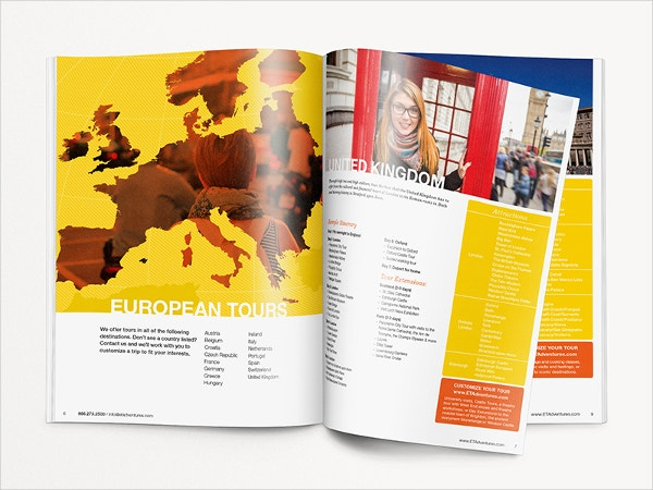 Educational Travel Adventures Brochure Template