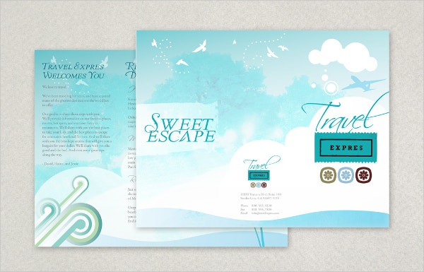 Travel Brochure Templates Free PSD AI EPS Format Download - Travel brochure template for students