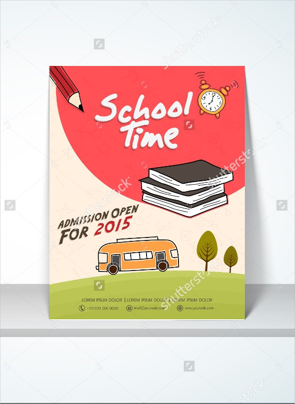 Stylish School Time Flyer