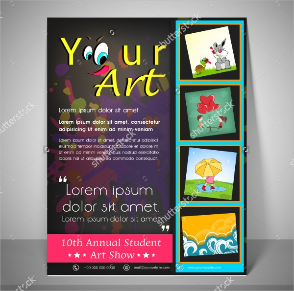 School Annual Day Flyer Template