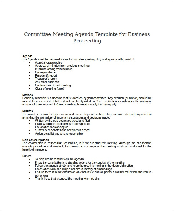 sle of meeting agenda - 28 images - agenda draft template 28 images ...