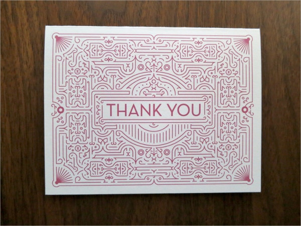 Eco Friendly Thank You Card Template