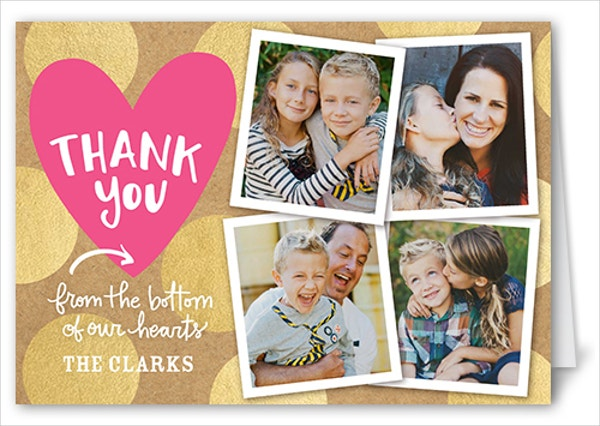 Appreciation Thank You Card