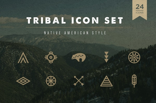 tribal icon set download