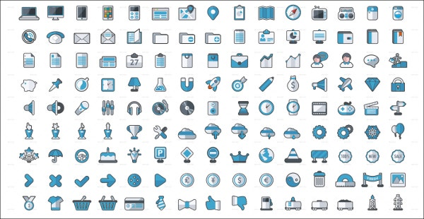 Web Elements Icon Set Download