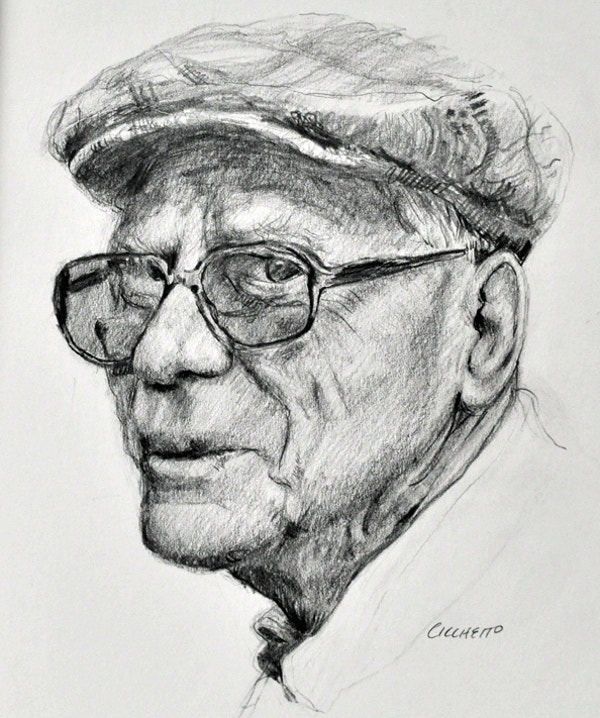 Canadian Gentleman Pencil Fine Art