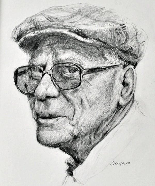 canadian gentleman pencil fine art