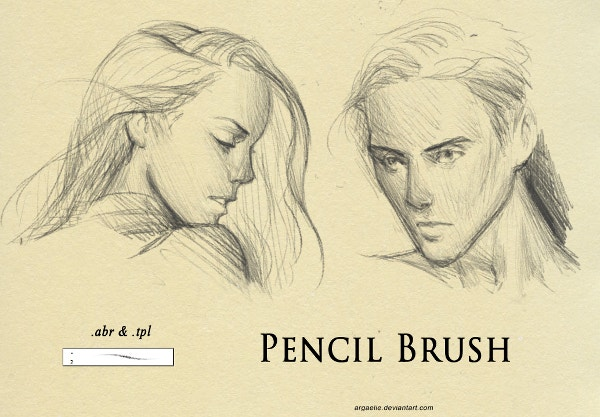 Pencil Fantasy Girl & Boy Fine Art