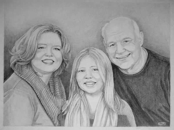 Sketch for photo Family Sine Art
