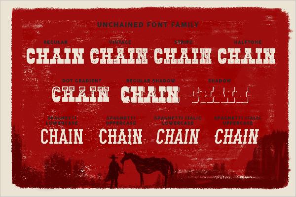 Vintage Cowboy Font