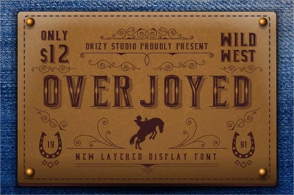 old cowboy font