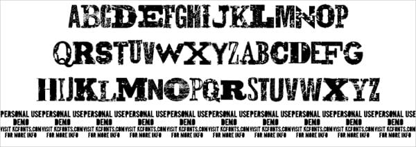 Cowboy Gunslinger Font