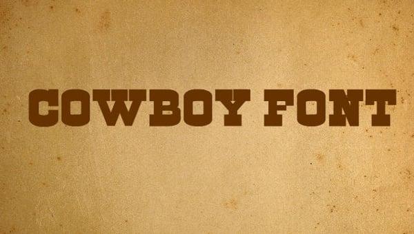 cowboyfonts