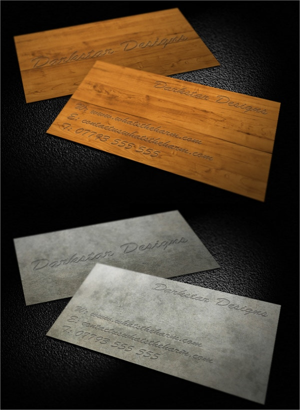 Free Engraved Business Cards