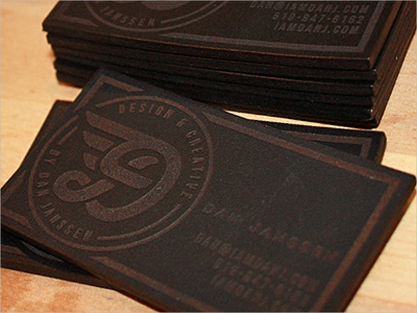 15  Engraved Business Cards