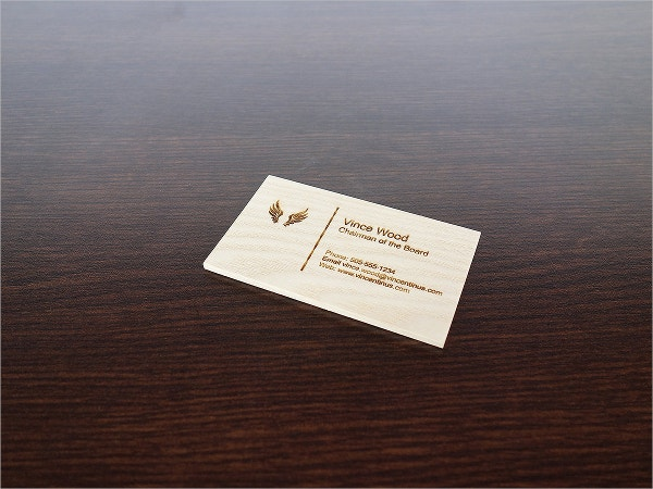 display engraved business card template