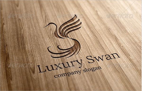 luxury swan logo