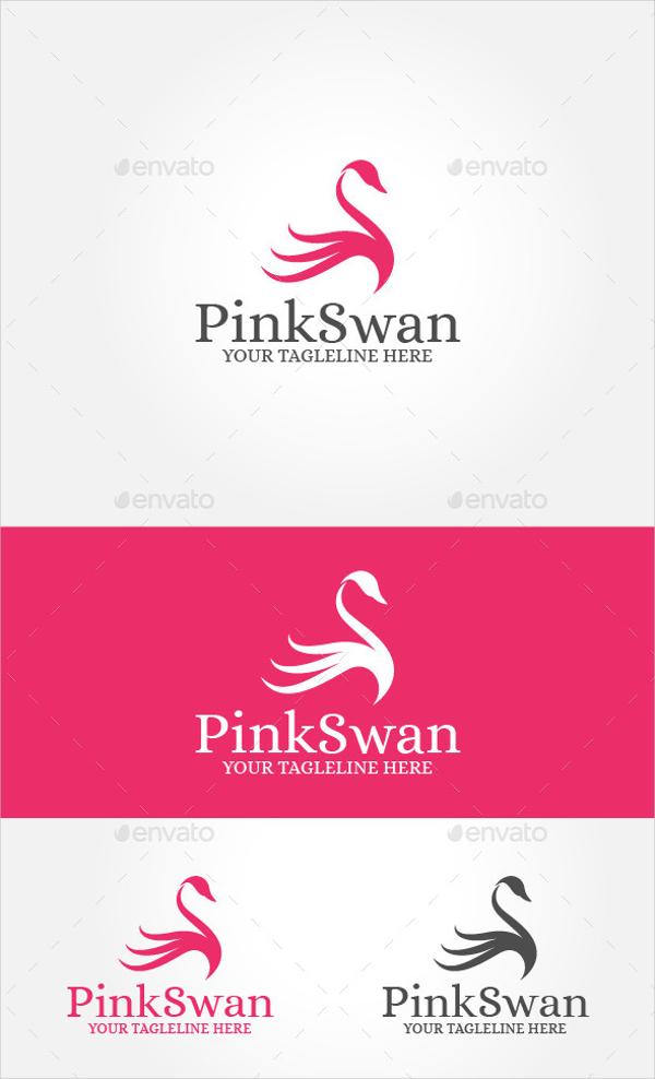 Pink Swan Logo