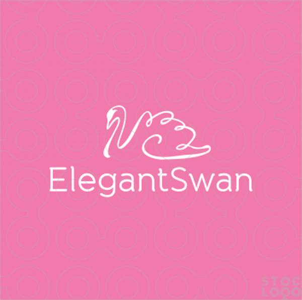 Elegant Swan Logo