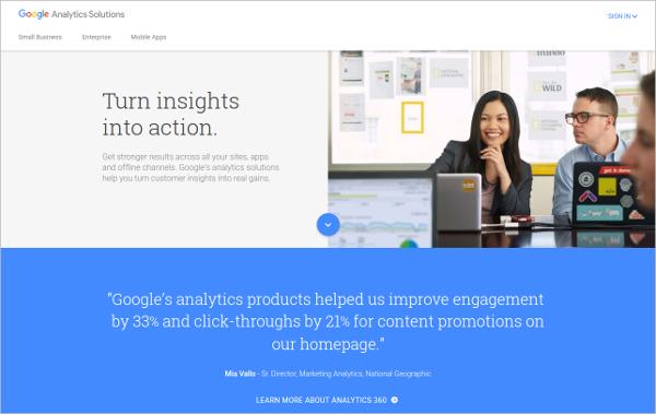 google analytics experiments ab testing platform