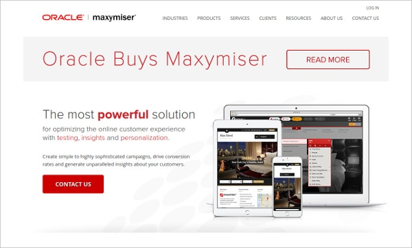 maxymiser powerful solution optimize