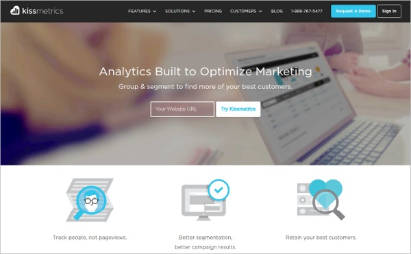 kissmetrics analytics optimize marketing
