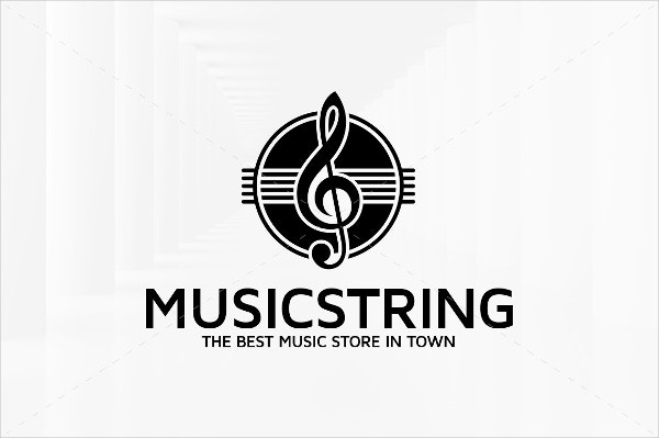 String Music Logo