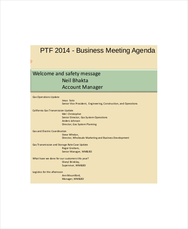 Business meeting agenda template trattorialeondoro business agenda sample business meeting agenda templates cheaphphosting Gallery